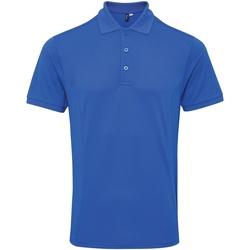 Vêtements Homme Polos manches courtes Premier Coolchecker Bleu roi