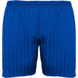 Vêtements Enfant Shorts / Bermudas Maddins Stripe Bleu roi