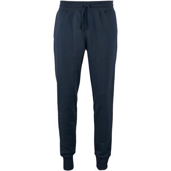 Vêtements Homme Pantalons de survêtement Sols Slim Fit Bleu marine