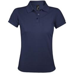 Vêtements Femme Polos manches courtes Sols Prime Bleu marine