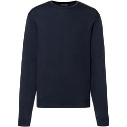 Vêtements Homme Pulls Russell Pull tricoté à col rond RW6079 Bleu marine
