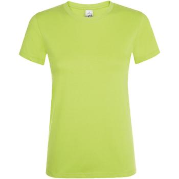 Vêtements Femme T-shirts manches courtes Sols Regent Pomme