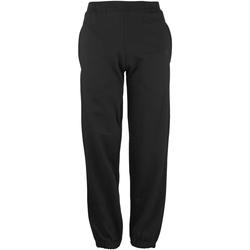 Vêtements Enfant Pantalons de survêtement Awdis Cuffed Noir