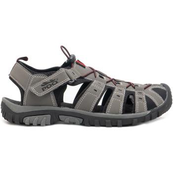Chaussures Homme Sandales sport Pdq  Gris/Rouge