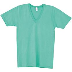 Vêtements T-shirts manches courtes American Apparel AA049 Menthe