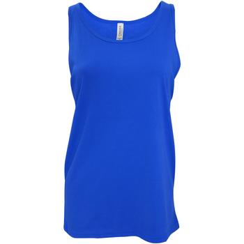 Vêtements Femme Débardeurs / T-shirts sans manche Bella + Canvas Jersey Bleu royal