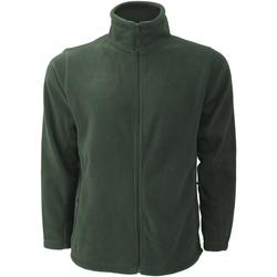 Vêtements Homme Polaires Russell Jerzees Colours Veste polaire à fermeture zippée BC575 Vert bouteille