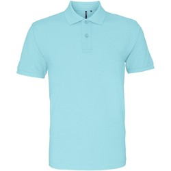 Vêtements Homme Polos manches courtes Asquith & Fox AQ010 bleu océan