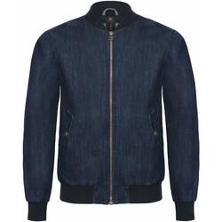 Vêtements Homme Vestes en jean B And C Supremacy Bleu foncé