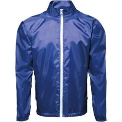Vêtements Homme Coupes vent 2786 Contrast Bleu roi/Blanc