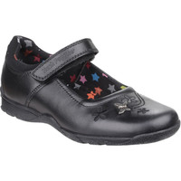 Chaussures Fille Ballerines / babies Hush puppies Clare Noir