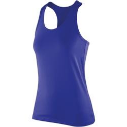 Vêtements Femme Débardeurs / T-shirts sans manche Spiro Stretch Saphir
