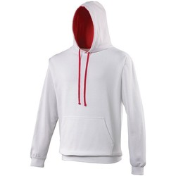 Vêtements Sweats Awdis Hooded Blanc / rouge