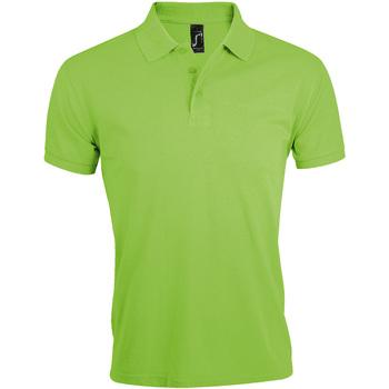 Vêtements Homme Polos manches courtes Sols Prime Vert clair