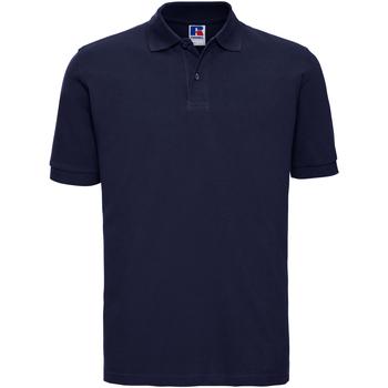 Vêtements Homme Polos manches courtes Russell 569M Bleu marine