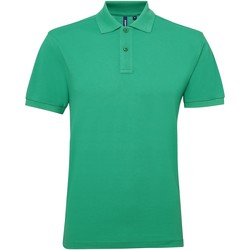 Vêtements Homme Polos manches courtes Asquith & Fox Performance Vert tendre
