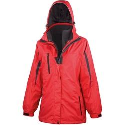 Vêtements Femme Coupes vent Result Softshell Rouge/ Noir