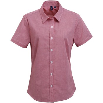 Vêtements Femme Chemises / Chemisiers Premier Check Rouge/Blanc