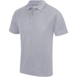 Vêtements Homme Polos manches courtes Awdis JC040 Gris