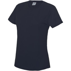 Vêtements Femme T-shirts manches courtes Just Cool JC005 Bleu marine