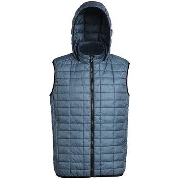 Vêtements Homme Gilets / Cardigans 2786 Honeycomb Acier