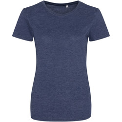 Vêtements Femme Lyle & Scott Awdis Girlie Bleu marine chiné
