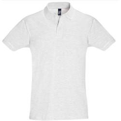 Vêtements Homme Polos manches courtes Sols 11346 Gris pâle