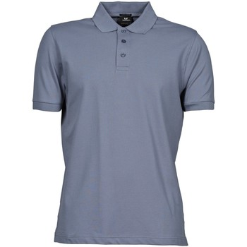 Vêtements Homme Polos manches courtes Tee Jays Stretch Bleu pierre