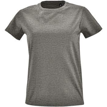 Vêtements Femme T-shirts manches courtes Sols Imperial Gris chiné
