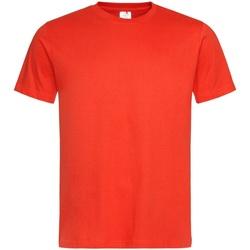 Vêtements Homme T-shirts manches courtes Stedman Classics Orange vif