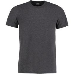 Vêtements Homme T-shirts manches courtes Kustom Kit KK504 Gris foncé chiné