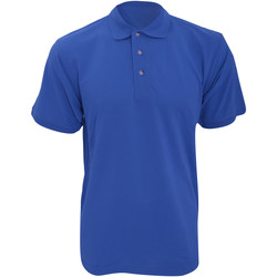 Vêtements Homme Polos manches courtes Kustom Kit Work Bleu royal