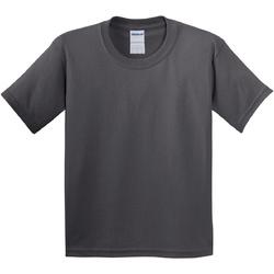 Vêtements Enfant T-shirts manches courtes Gildan 64000B Gris foncé