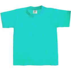 Vêtements Enfant T-shirts manches courtes B And C Exact 190 Bleu piscine