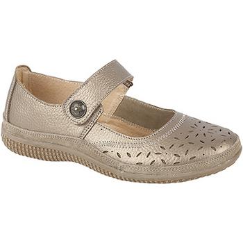 Chaussures Femme Ballerines / babies Boulevard Wide Fit Bronze