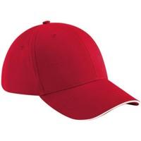 Accessoires textile Casquettes Beechfield Athleisure Rouge classique/Blanc