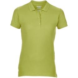 Vêtements Femme Polos manches courtes Gildan Pique Vert néon