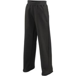 Vêtements Enfant Pantalons de survêtement Awdis  Noir