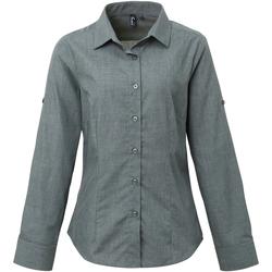 Vêtements Femme Chemises / Chemisiers Premier Poplin Gris denim