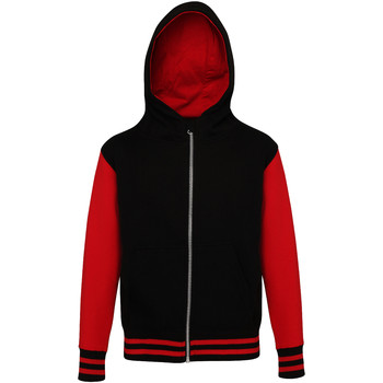 Vêtements Enfant Sweats Awdis Varsity Noir/Rouge
