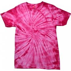 Vêtements Enfant T-shirts manches courtes Colortone Spider Rose