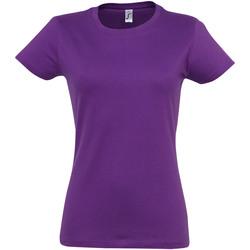 Vêtements Femme T-shirts manches courtes Sols Imperial Violet