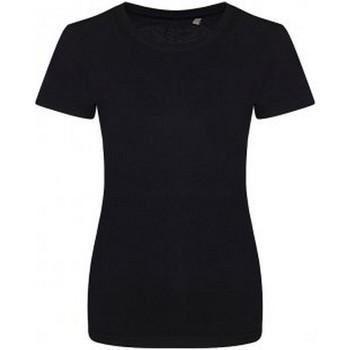 Vêtements Femme T-shirts manches courtes Ecologie Organic Noir
