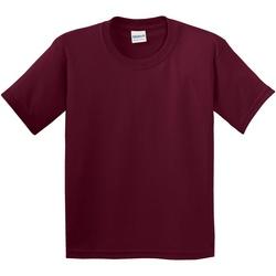 Vêtements Enfant T-shirts manches courtes Gildan 5000B Bordeaux