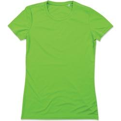 Vêtements Femme T-shirts manches courtes Stedman Active Vert kiwi