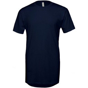 Vêtements Homme T-shirts manches courtes Bella + Canvas Long Body Bleu marine