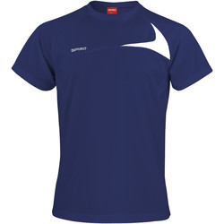 Vêtements Homme T-shirts manches courtes Spiro Performance Bleu marine/Blanc