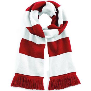 Accessoires textile Echarpes / Etoles / Foulards Beechfield Varsity Rouge/Blanc