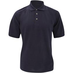 Vêtements Homme Polos manches courtes Kustom Kit Chunky Bleu marine