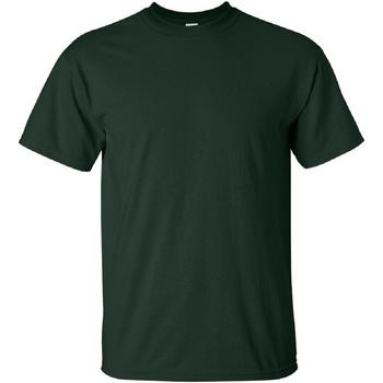 Vêtements Homme T-shirts manches courtes Gildan Ultra Vert forêt